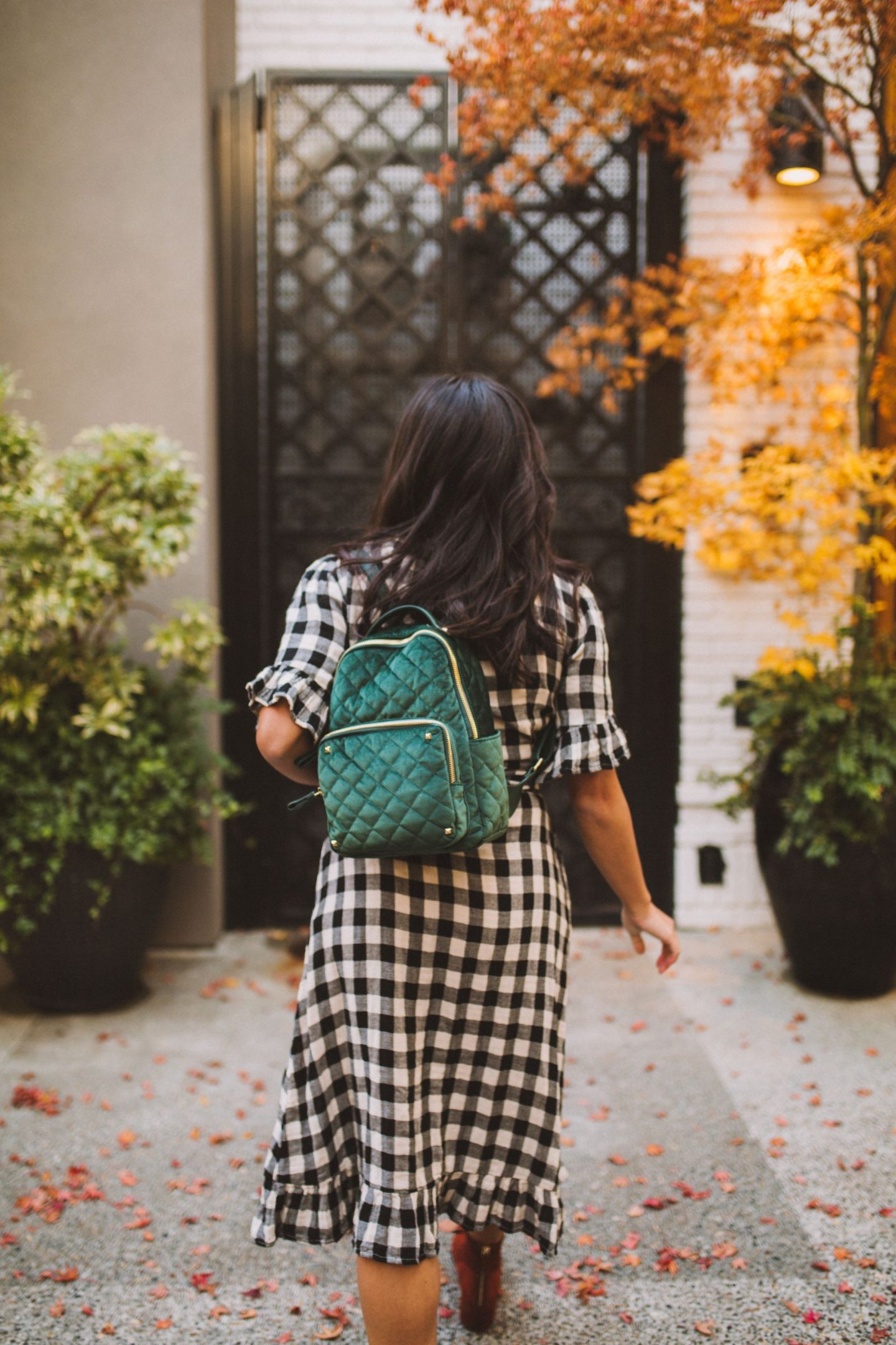 BGS-2560 Emerald Green Classic Backpack - MMS Brands - Seattle Blogger - Thankful Thanksgiving