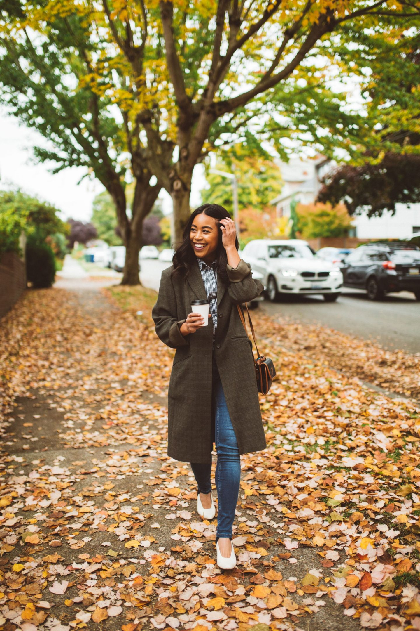 Fall Style - Autumn Colors - How to Style an Oversized Blazer