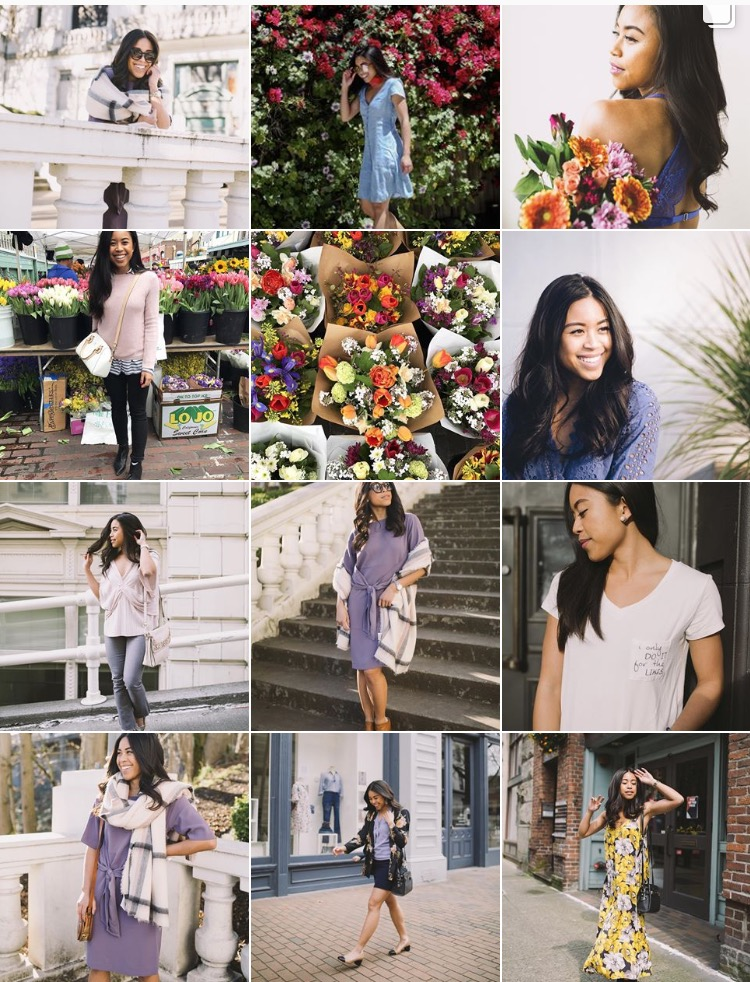 10 Tips to Grow Your Instagram Following - Floral Theme - Floral Aesthetic Instagram Feed