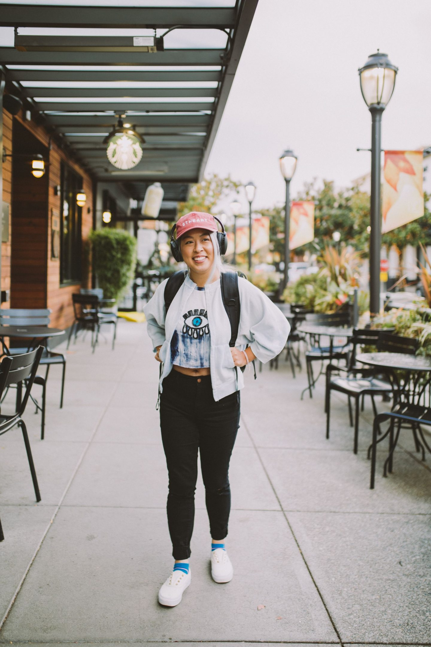 Red Skullcandy Hesh Headphones - College Essentials - College Tech Accessories - Holly Phan - Seattle Photographer