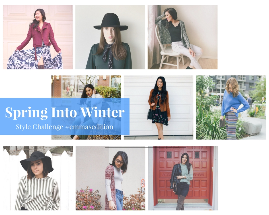 Spring Into Winter Style Challenge Round Up
