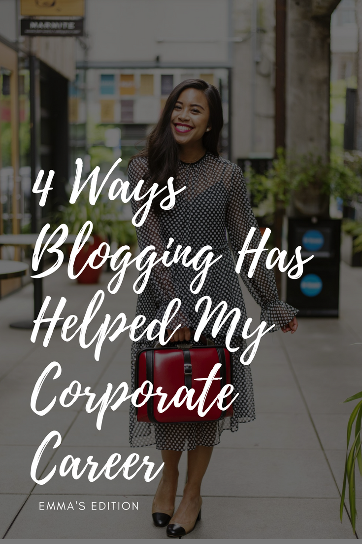 4 Ways Blogging Has Helped My Corporate Career – how blogging can help your career – how starting a blog can benefit your career – blogging as a career – why blogging is important – why blogging is good – blog advice – blogging for beginners