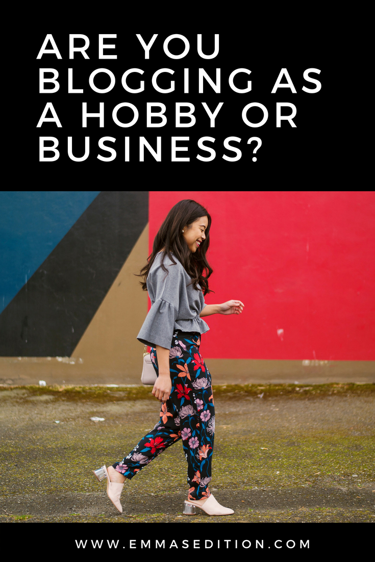 Are you blogging as a hobby or business - Business of Blogging – are you a hobby or a business – blogging for business – how to start a blog business and get paid – when blogging becomes a business – is my blog a business or hobby – advice for bloggers – blogging tips for beginners