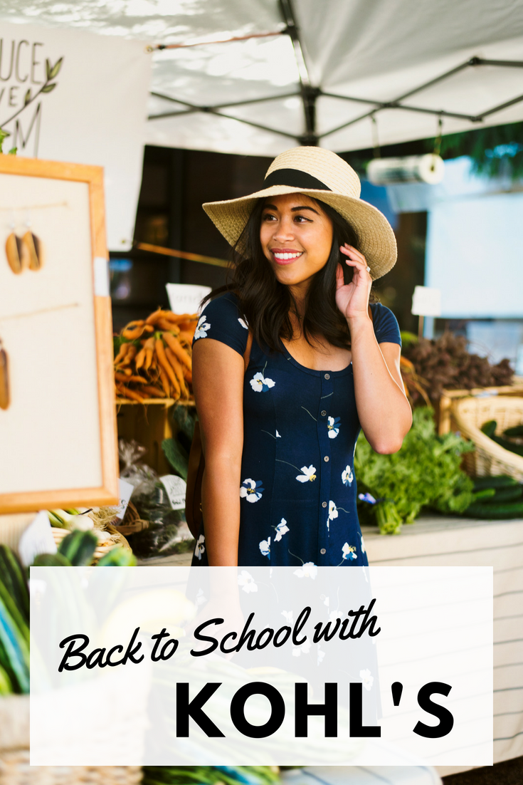 Back to School – Back to School with Kohl's – back to school outfits 2018 - back to school trends 2018 – cute back to school outfits – back to school fashion trends – kohl's back to school sale 2018 – kohls