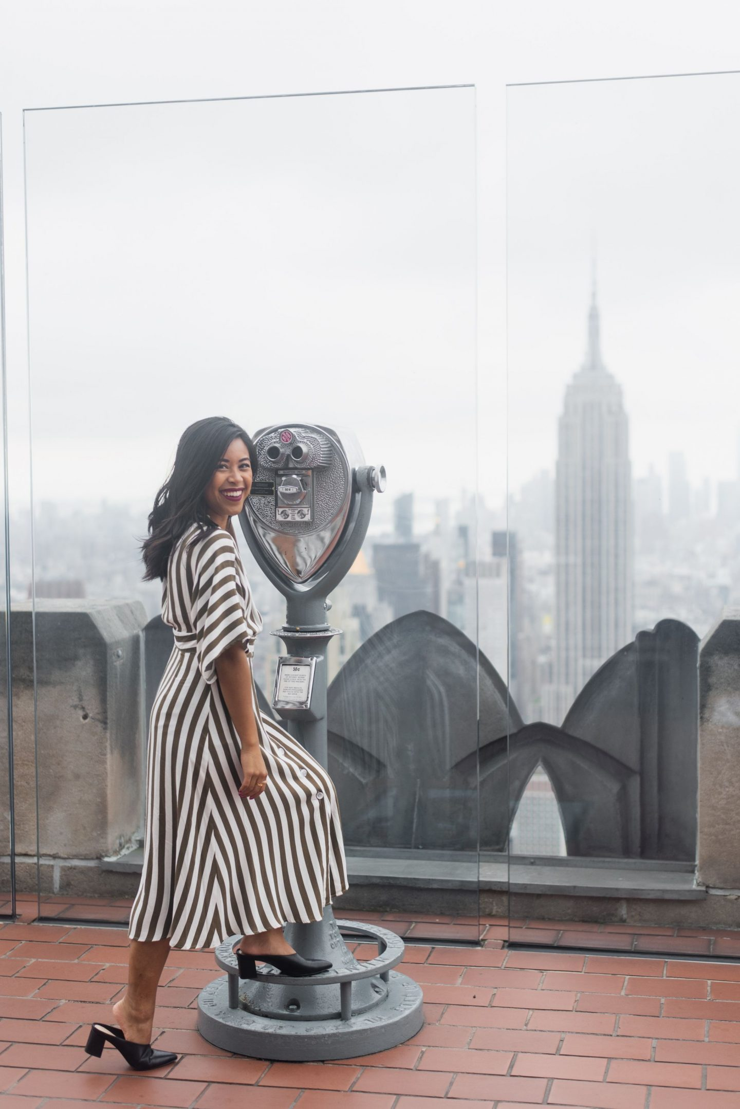 Behind the Scenes of NYFW – behind the scenes of new York fashion week – tips for going to new York fashion week – NYFW – new York fashion week 2019 – new York fashion week tickets – visit New York – Top of the Rock – Rockefeller Center – Visit New York – Things to see in New York