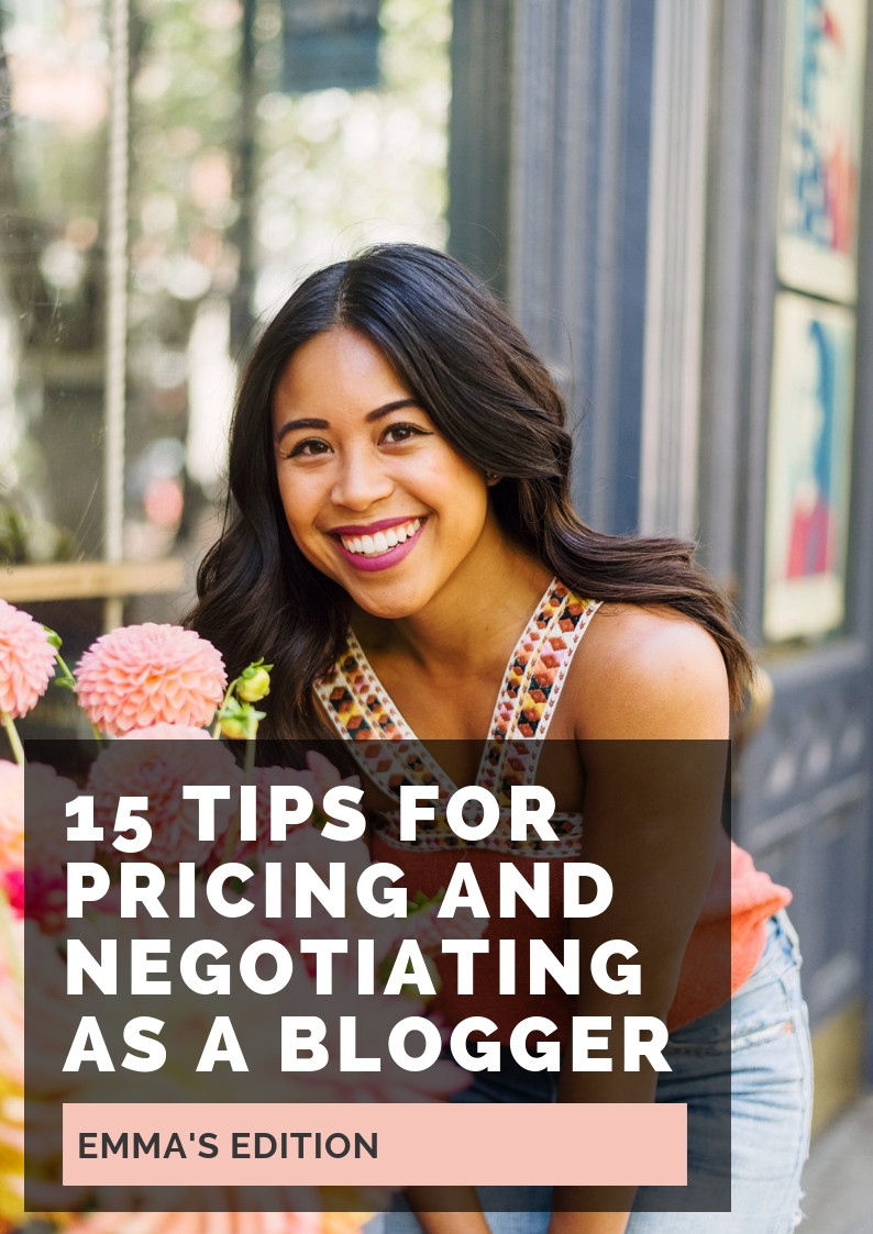 Tips for negotiating and pricing – how to negotiate price in email – how to negotiate a higher price how to negotiate price as a blogger – how to price yourself as a blogger – how to negotiate with brands – how much should I charge as a blogger – how much to charge as a sponsored post – how to price yourself as a blogger – how much to charge for a sponsored Instagram post