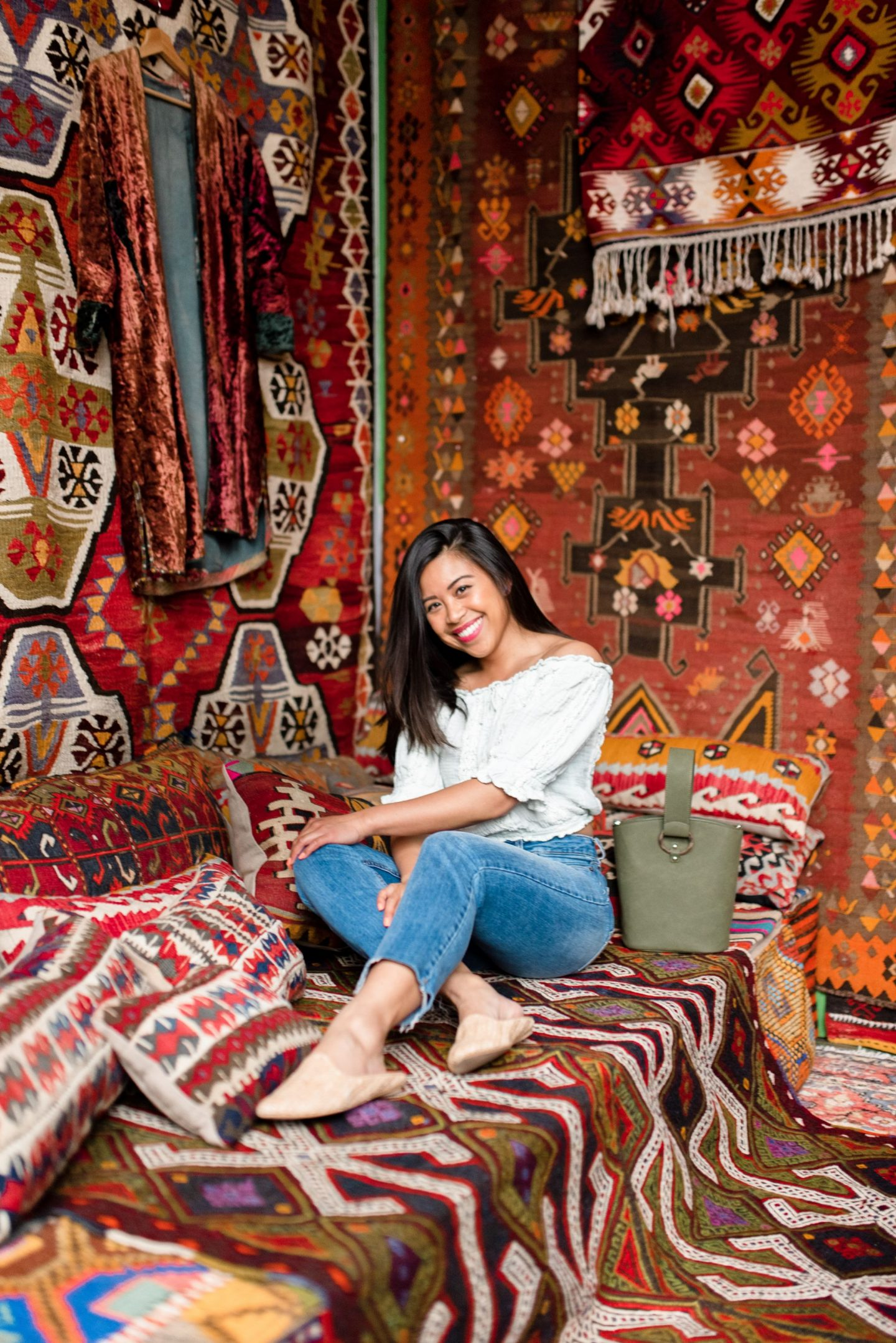 best photo spots in Portland – Portland Style – Portland Blogger – Portland Oregon - turkish rugs
