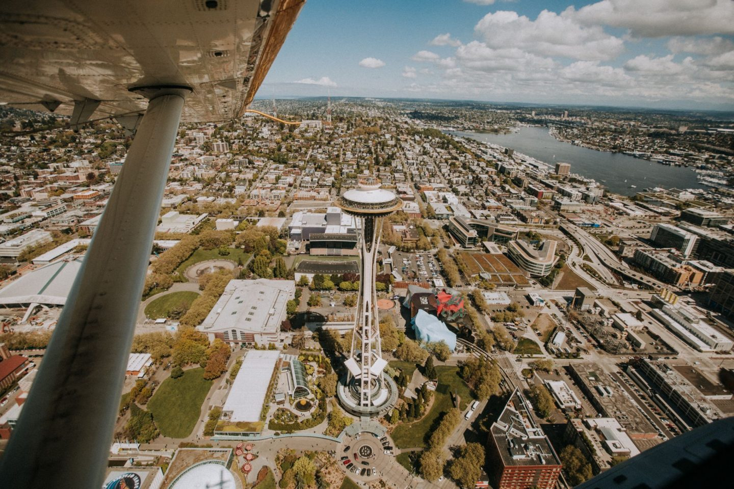 Space Needle from Kenmore Air