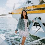 seaplane - denim jacket - lulus dress - lake union