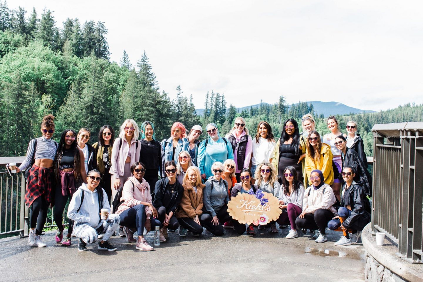 Kiehl's Refresh & Reset Retreat Recap  group photo