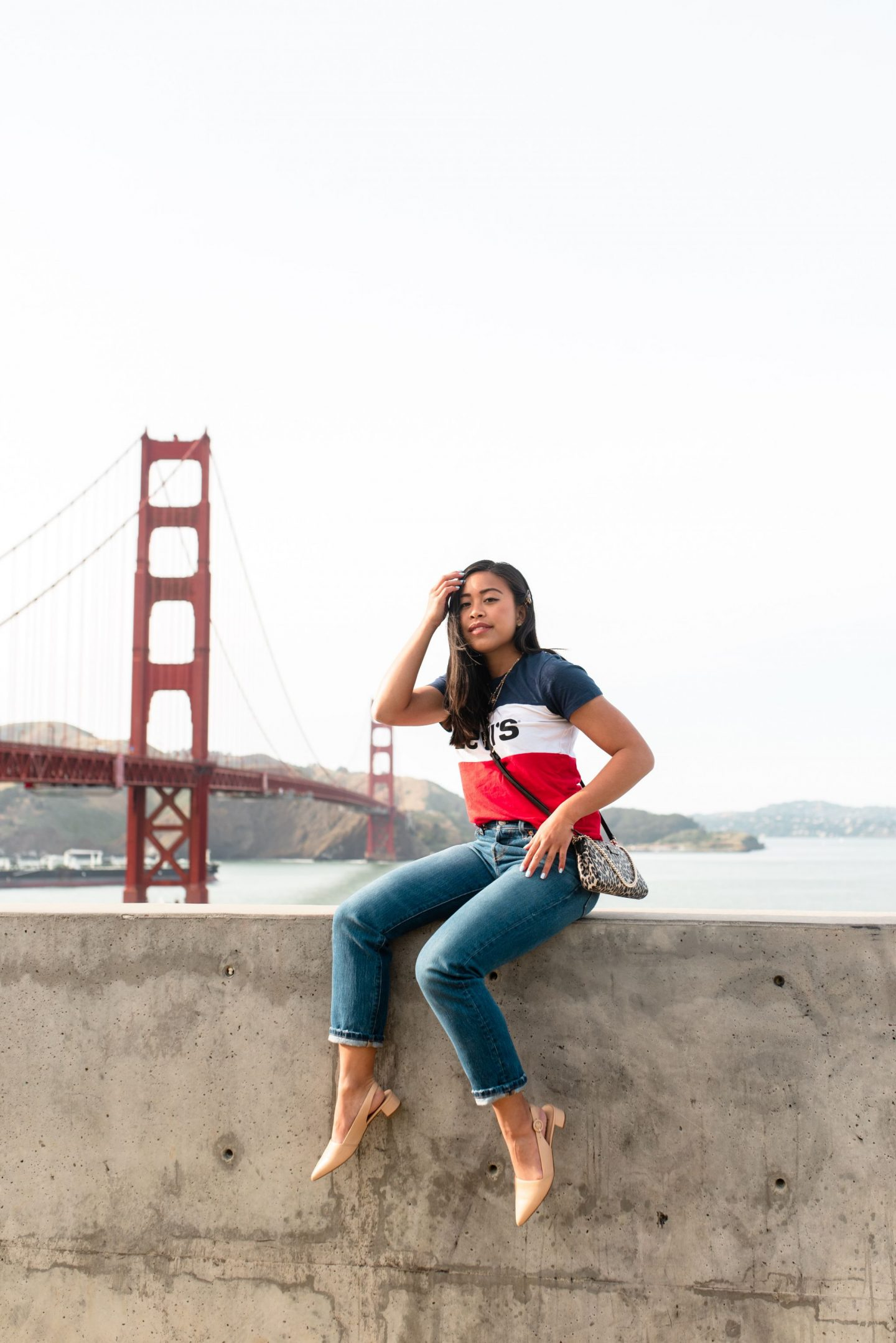 golden gate bridge - san francisco weekend outfit
