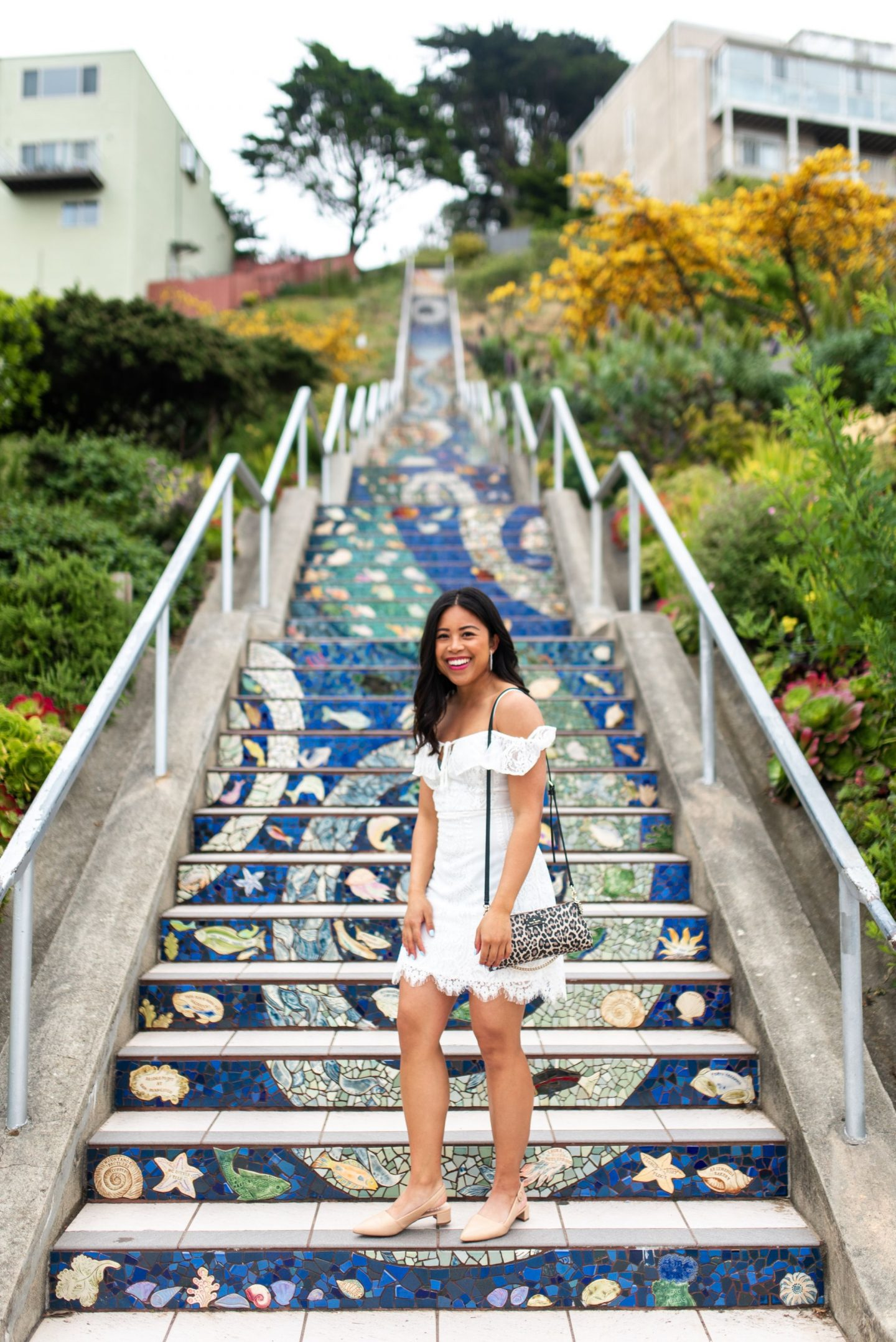Mosaic Staircase in San Francisco