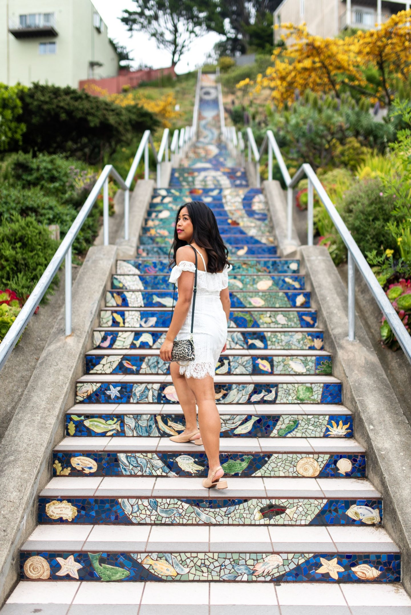 Mosaic Staircase in San Francisco - San Francisco's Most Instagrammable Places