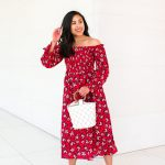red floral dress from who what wear collection