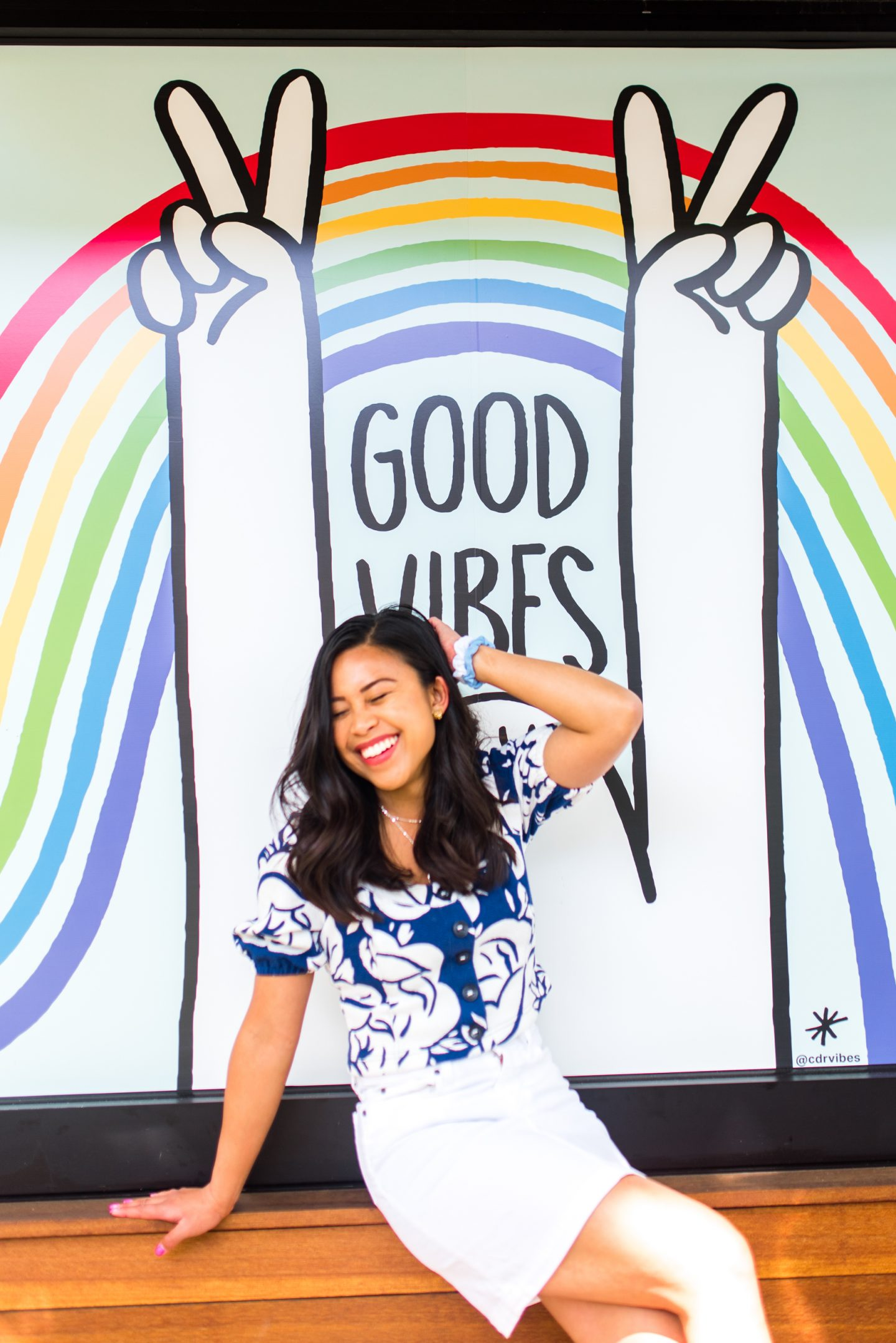 Good Vibes Mural - Rainbow Mural - Why I Started Emma's Edition – Blog Story – How I started my Blog
