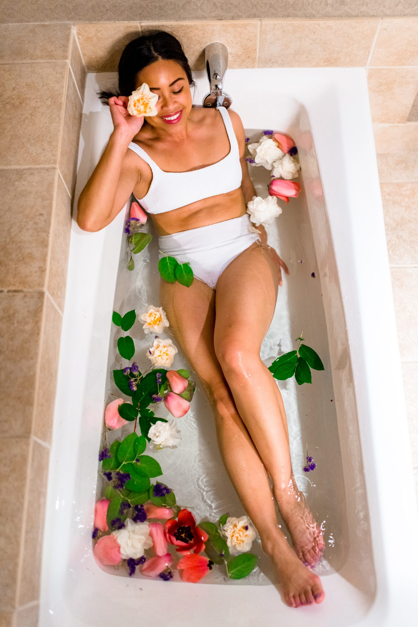 bathtub photo shoot ideas