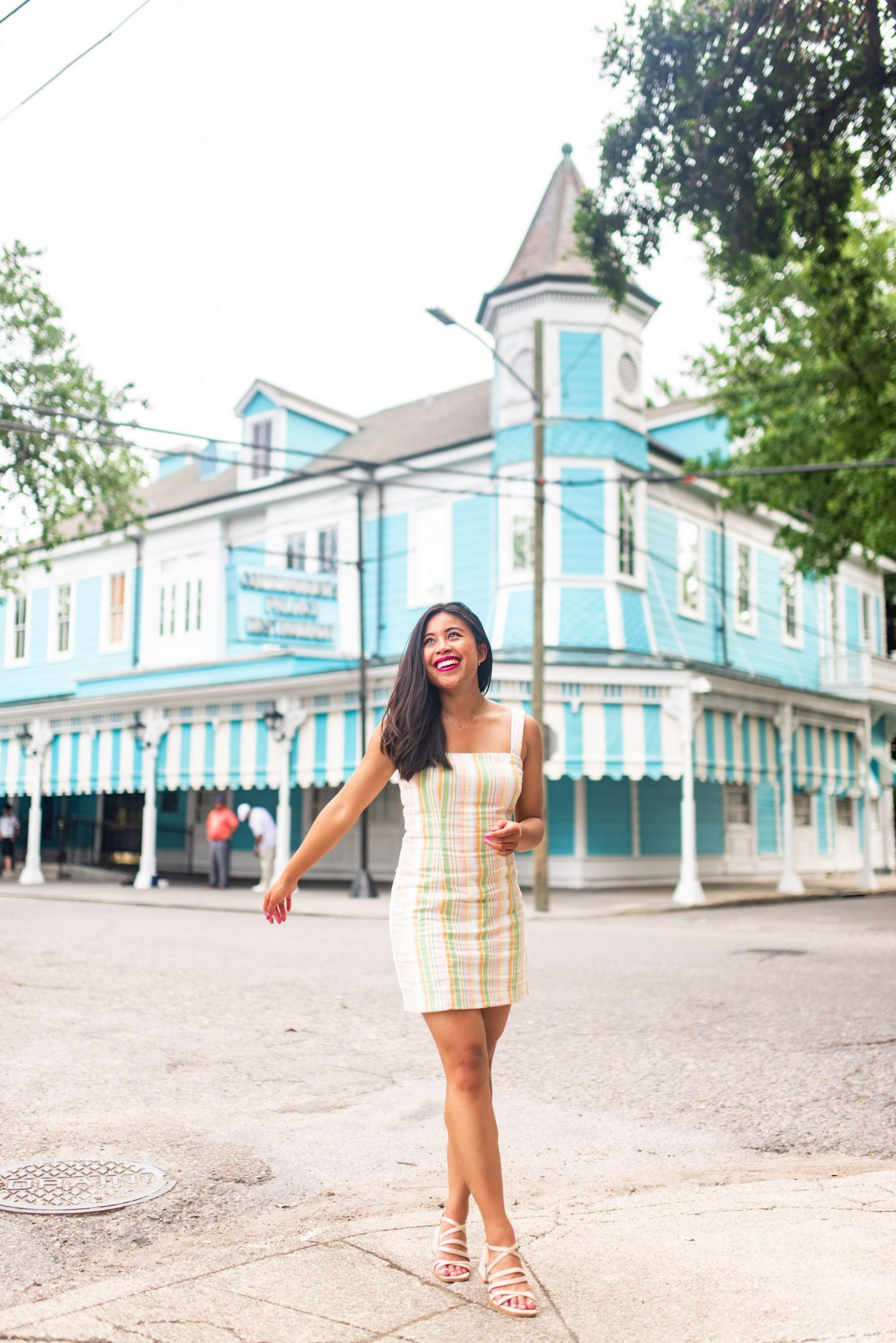 Commanders Palace - Garden District - Most instagrammable Places in Orleans – best photo spots in New Orleans – New Orleans street photography – Instagram worthy spots in new Orleans – NOLA Instagram spots
