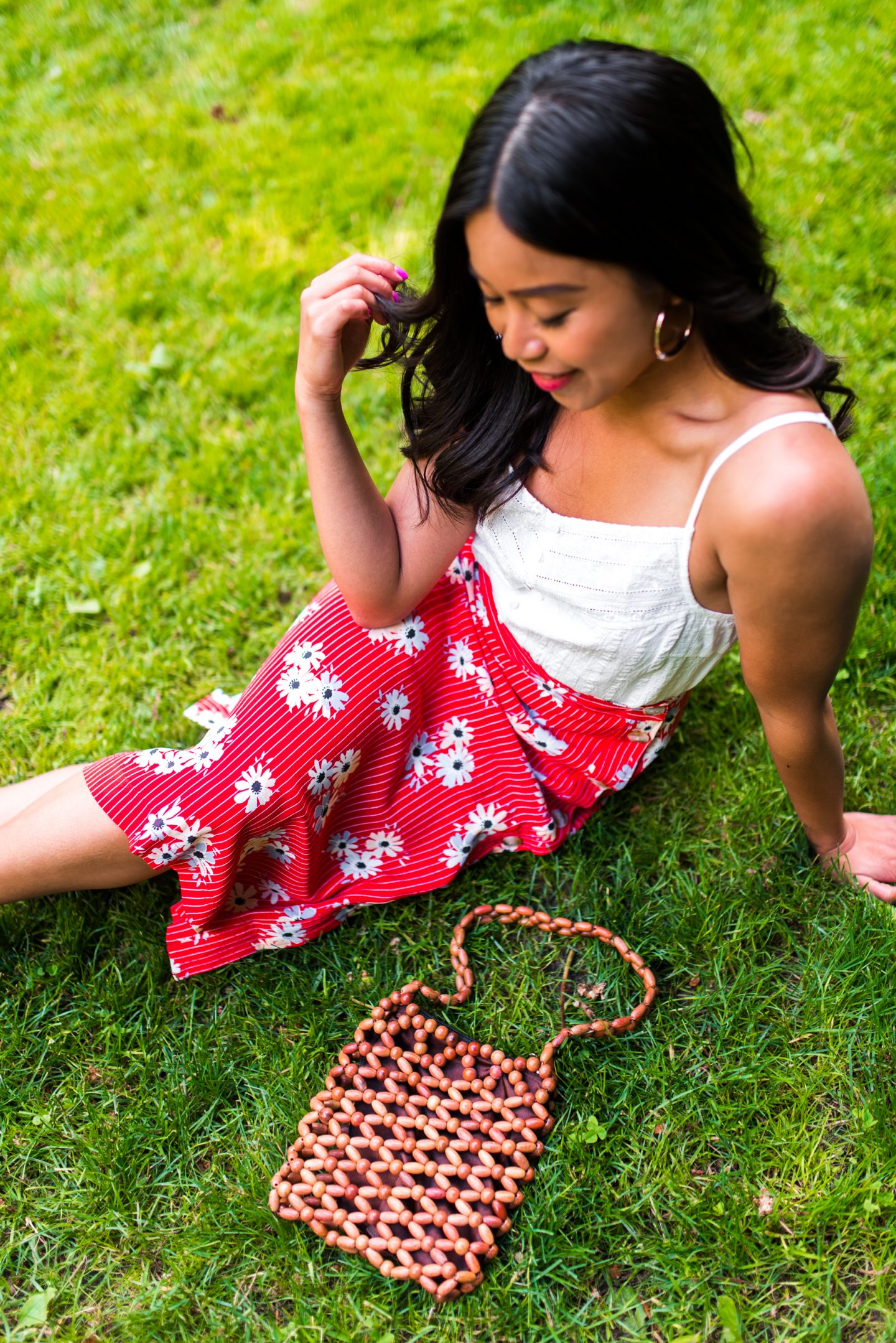 Madewell Skirt - 4th of July Outfit Ideas - Petite Style