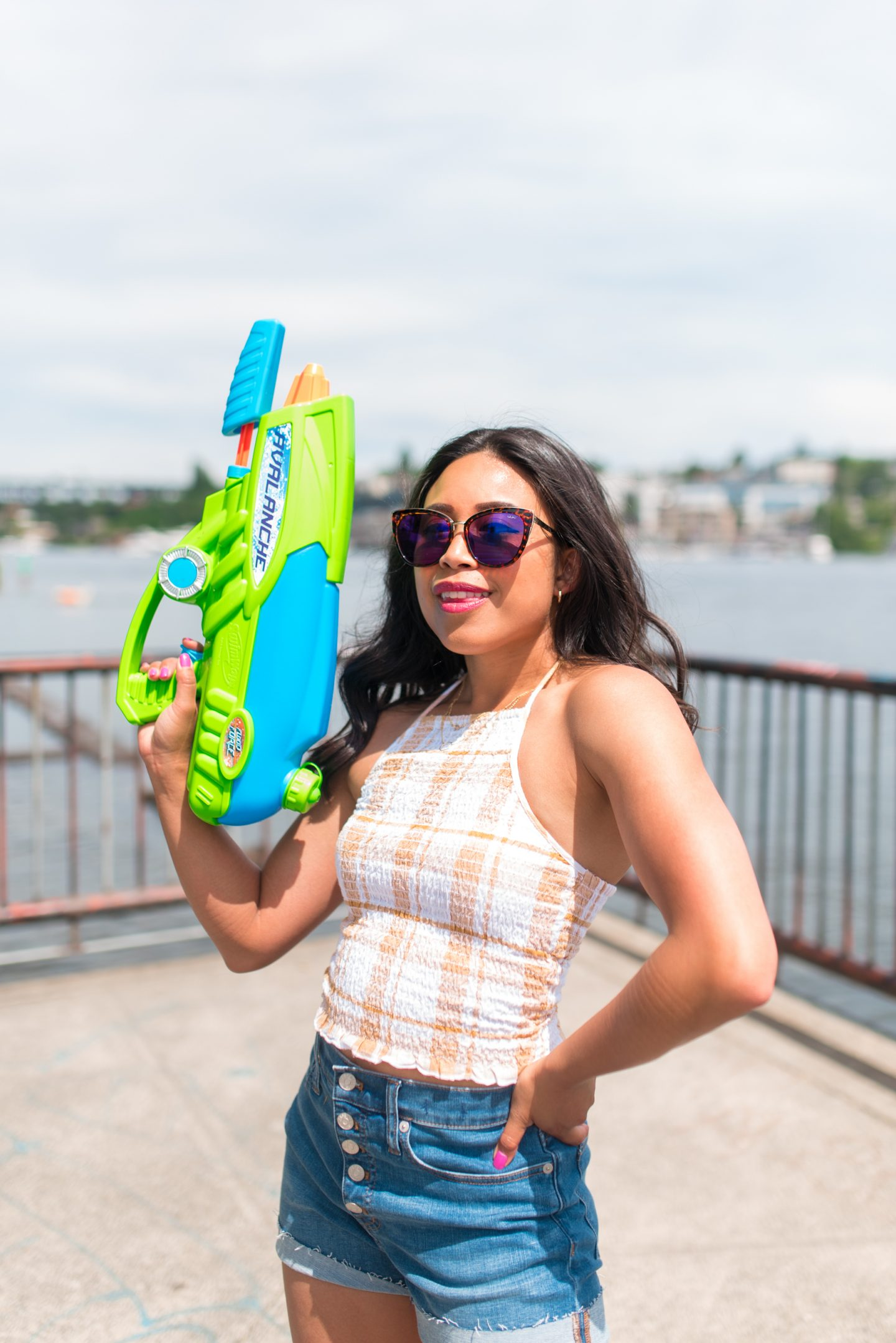 watergun - gas works park - 4th of July Outfit Ideas