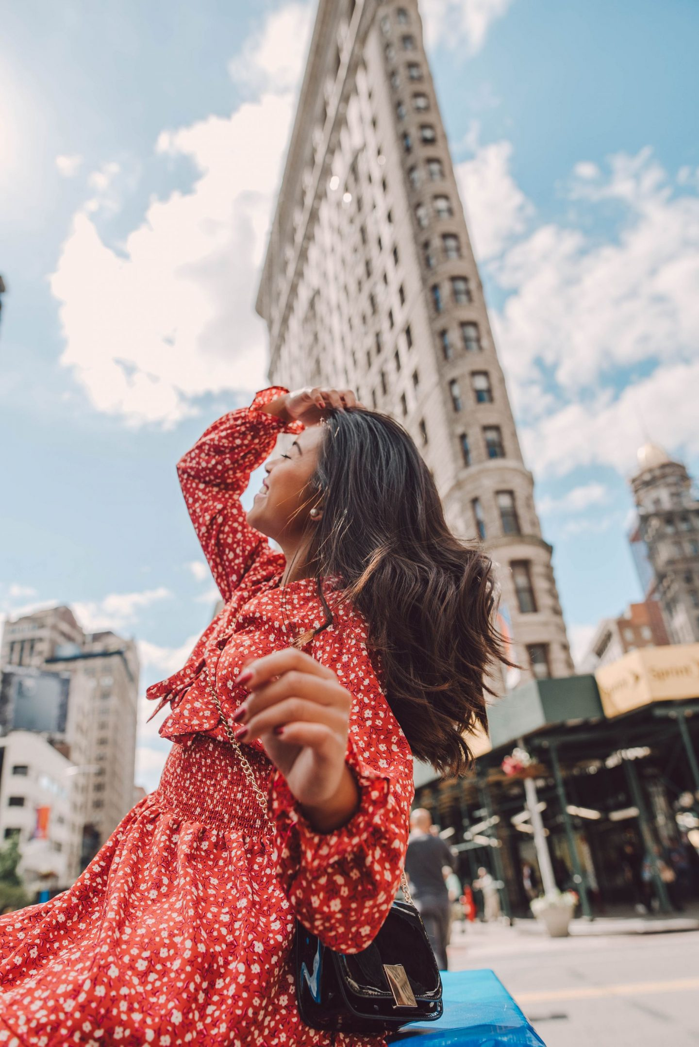 How to get a great photo at the flatiron building - Emmas Edition