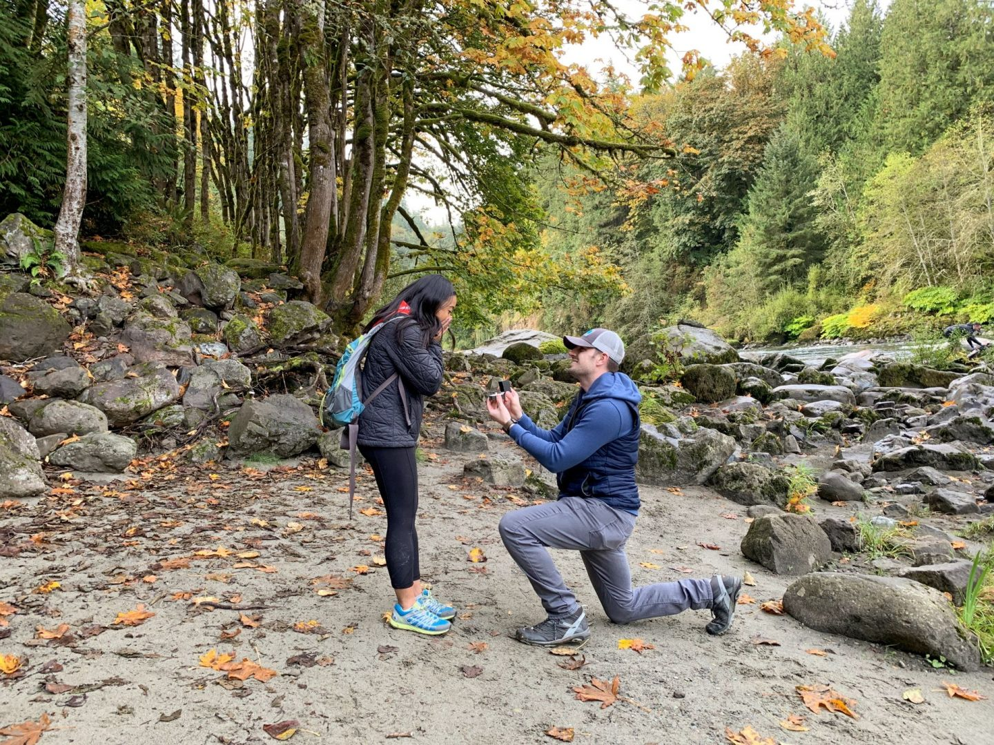 When he asked: our proposal story