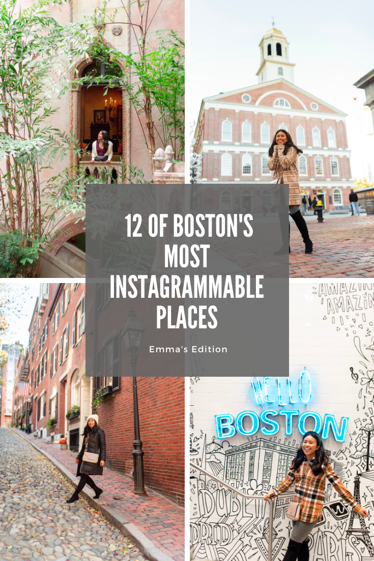 Boston Most Instagrammable Places