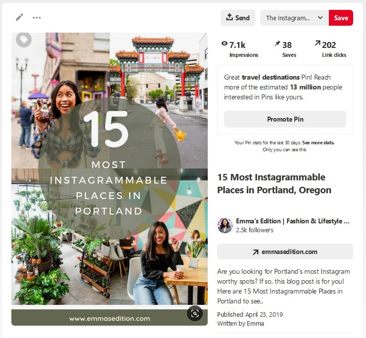 Pinterest to grow your blog traffic – Pinterest tips and tricks – Pinterest tips for bloggers – Pinterest for bloggers