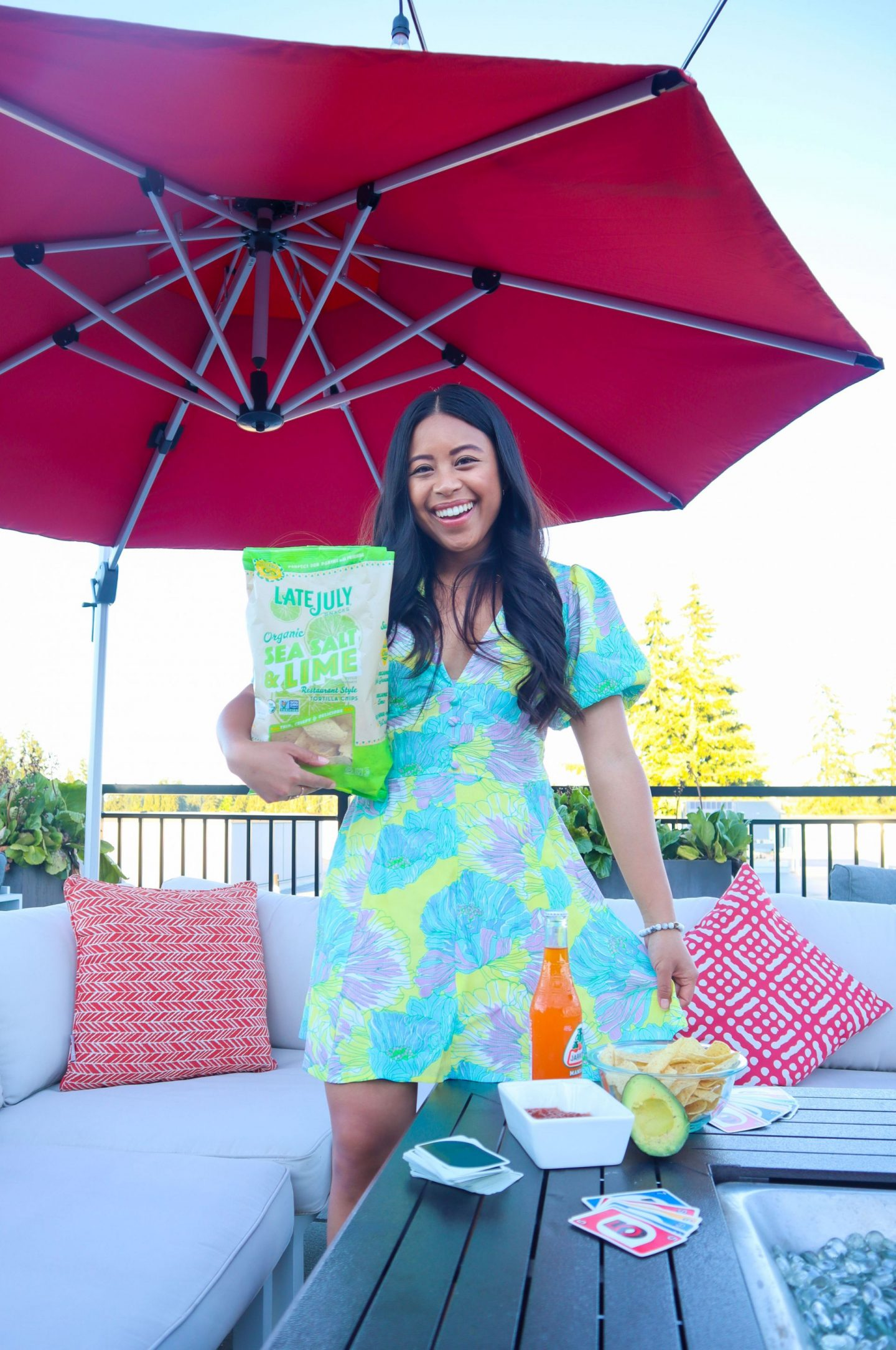 Easy Summer Date Ideas with Late July Organic Tortilla Chips