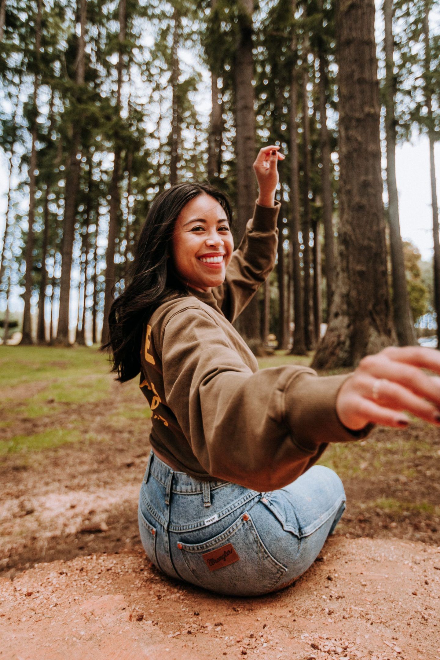 wrangler jeans - seattle content creator - fred segal x nordstrom