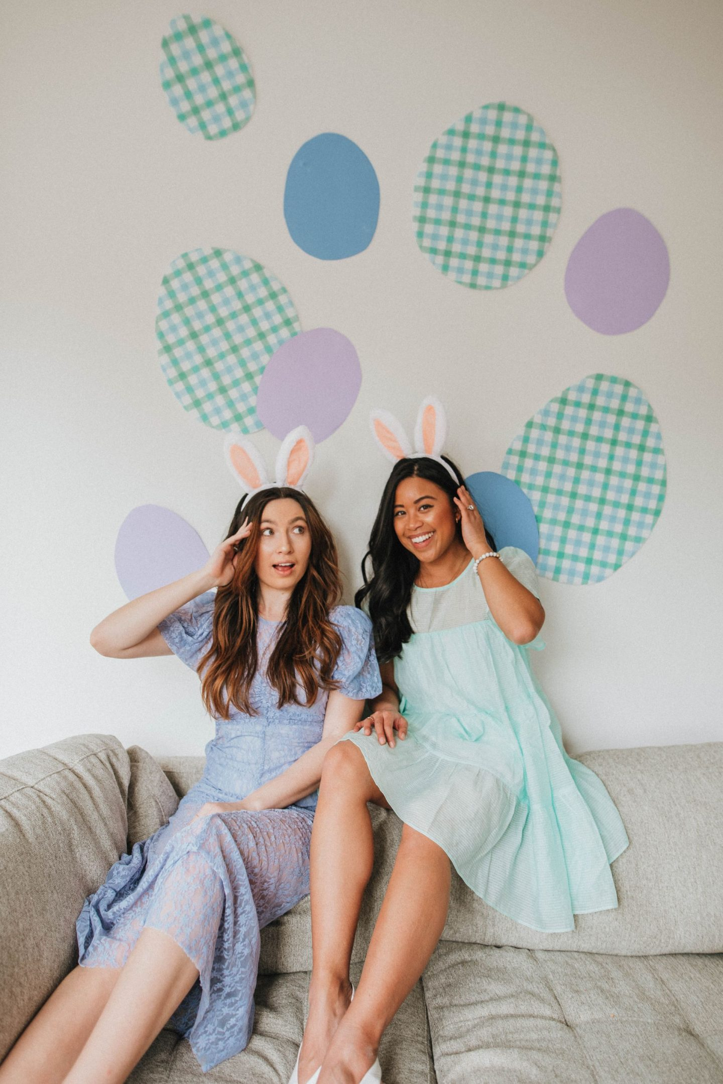 Best friend photo shoot ideas for Easter