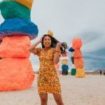 Seven Magic Mountains outside of Las Vegas - Most Instagrammable Places in Las Vegas – When in Vegas – Things to do in Las Vegas – Things to see in Las Vegas – 3 day Las Vegas weekend trip – spring Las Vegas vacation – image from www.emmasedition.com – copyright @emmasedition